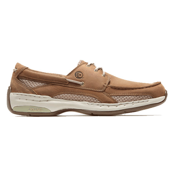 """DUNHAM"" Men's Captain Boat Shoe (Tan)"