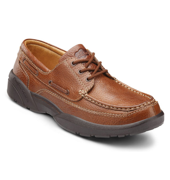 DR. COMFORT Patrick Men's Casual Shoe - Chestnut