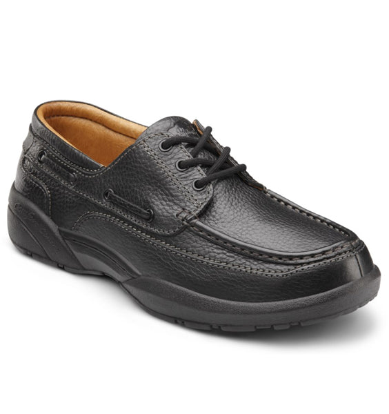 DR. COMFORT Patrick Men's Casual Shoe - Black (1912458969178)
