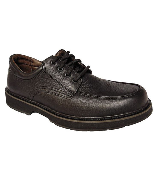 """CAMBRIAN"" Men's Moc Toe (Black)"