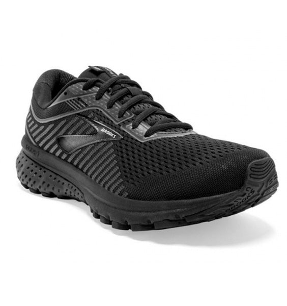 """BROOKS"" Women's Ghost 12 (Black/Grey)"