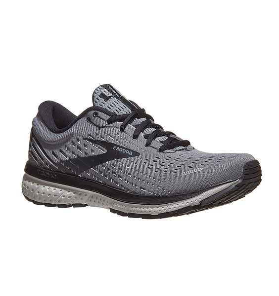 """BROOKS"" Men's Ghost 13 (Primer Grey/Pearl/Black) (5740065423517)"