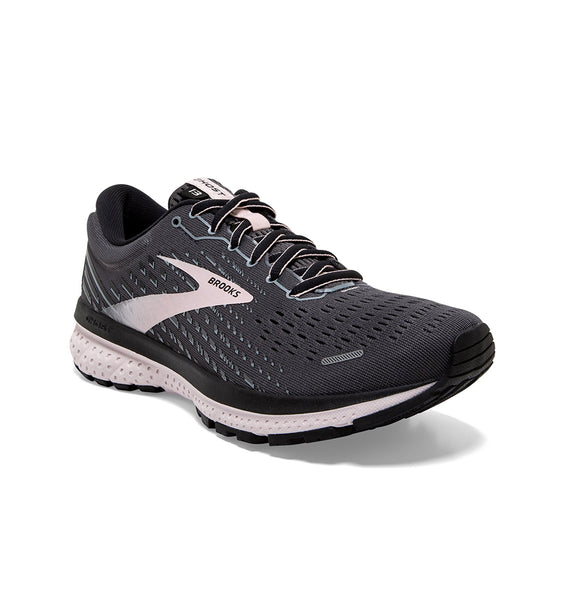 """BROOKS"" Women's Ghost 13 (Black/Pearl/Hushed Violet) (5740088000669)"