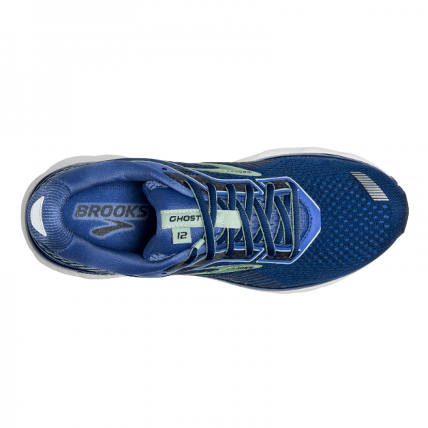"""BROOKS"" Women's Ghost 12 (Peacoat/Blue/Aqua)"