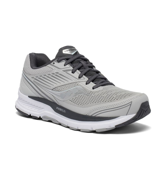 """SAUCONY"" Women's Echelon 8 (Alloy/Charcoal) (5739907514525)"
