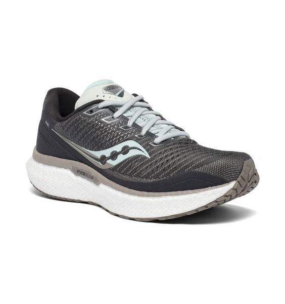 """SAUCONY"" Women's Triumph 18 (Black/White) (5739932713117)"