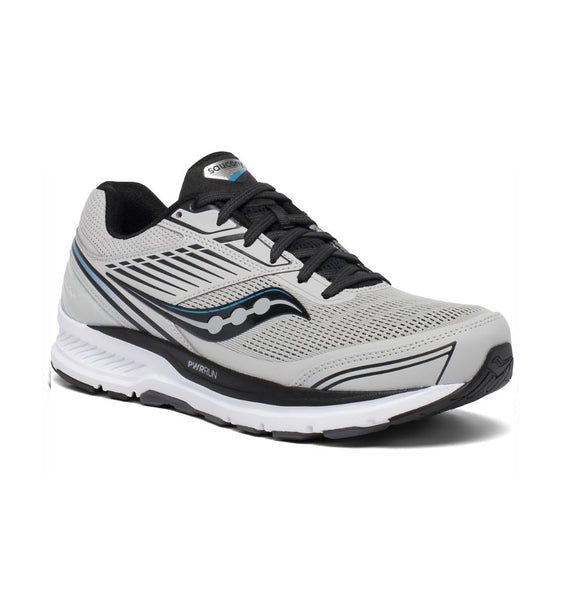 """SAUCONY"" Men's Echelon 8 (Alloy/Black) (5739965939869)"