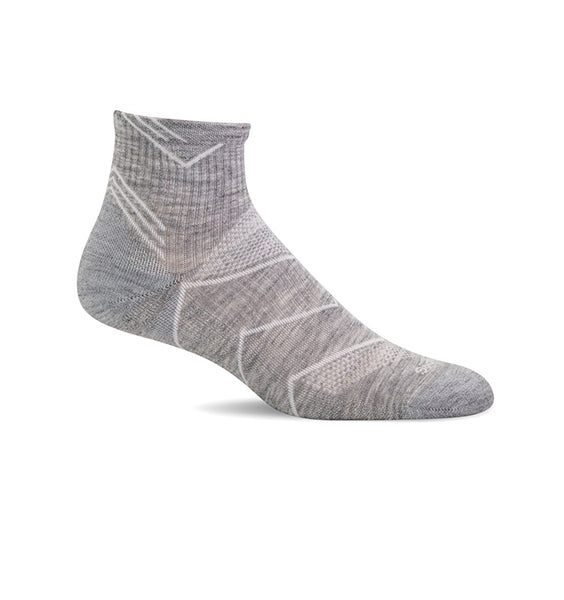 (SOCKWELL) Women's Moderate Compression, Incline OTC 15-20 MMHG (Grey)
