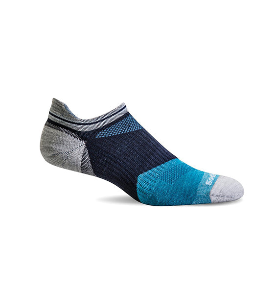 (SOCKWELL) Men's Moderate Compression, Flash 15-20 MMHG (Navy) (4415972114522)