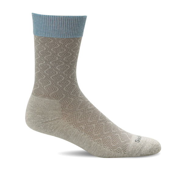 (SOCKWELL) Women's Moderate Compression, Softie (Natural) (4524638601306)