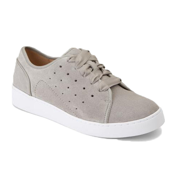 """VIONIC"" Women's Splendid Keke Lace Up (Light Grey Suede)"