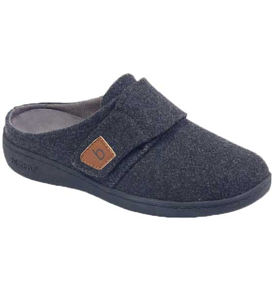 """BIOTIME"" Women's AMITY SLIPPER, GREY"