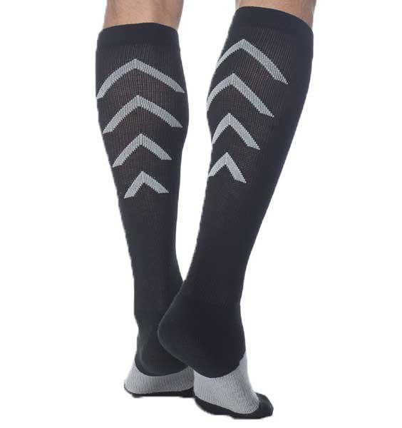 Sigvaris Athletic Recovery Sock 401 Calf 15-20mmHg (1354439950426)