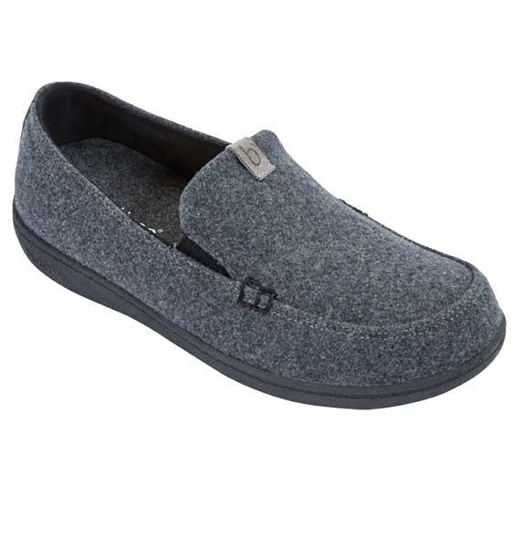 """BIOTIME""  BENNETT SLIPPER, GREY"