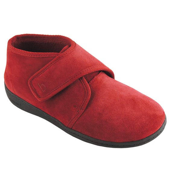 """BIOTIME"" Women's Ariel Slipper (Red) (11967627908)"