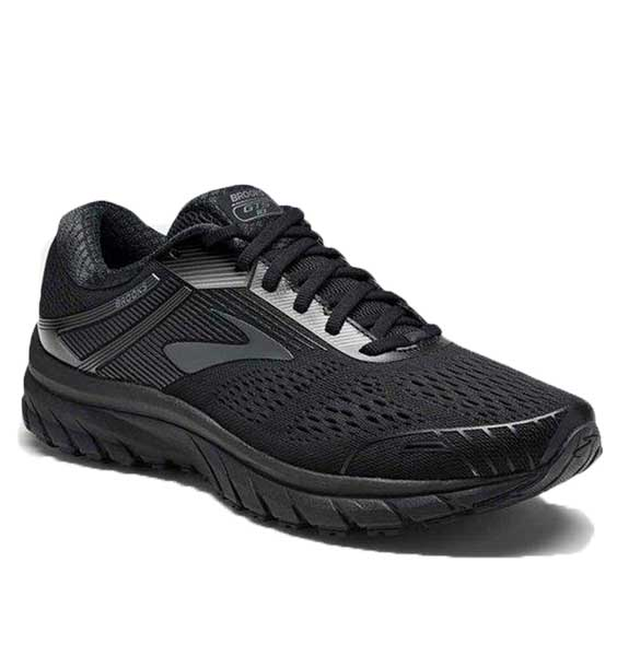 Brooks Men's Adrenaline GTS 18 Black/Black