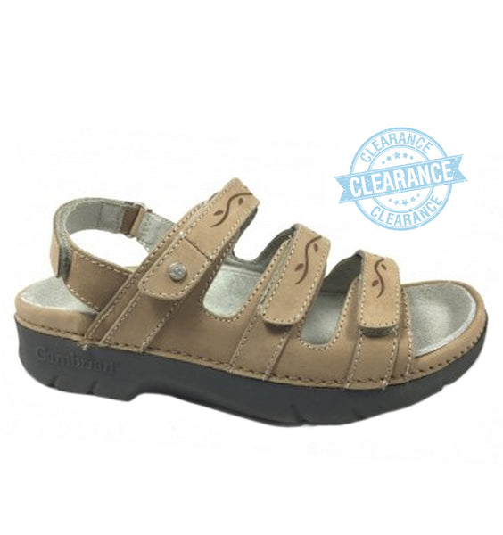 """CAMBRIAN"" Women's Delphi Sandal (Taupe)"