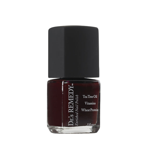DR.'S REMEDY Nail Polish (Defense Deep Red) (1588024344666)