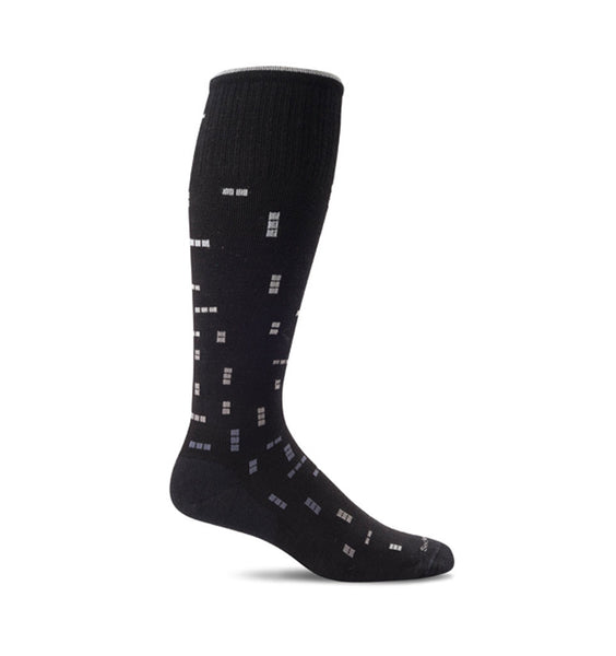 (SOCKWELL) Men's Moderate Compression, DIGITAL DITTY 15-20 MMHG