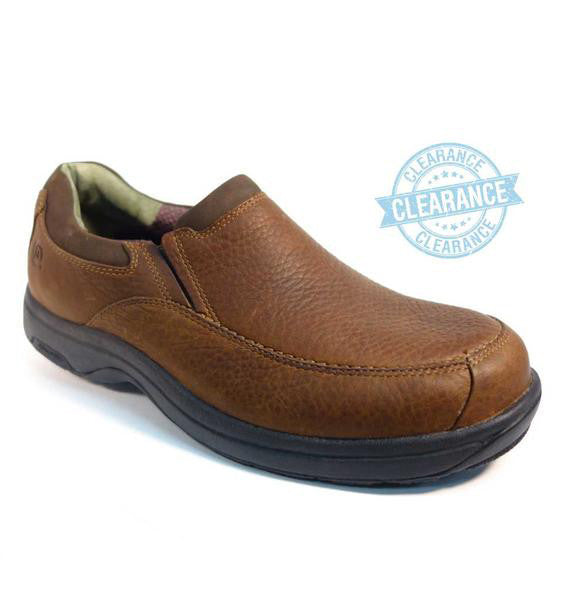 """DUNHAM"" Men's Windsor Brown Slip-on"
