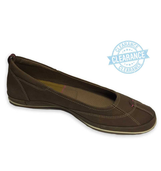 """ECCO"" Women's Lite Ballerina (Coco Brown)"
