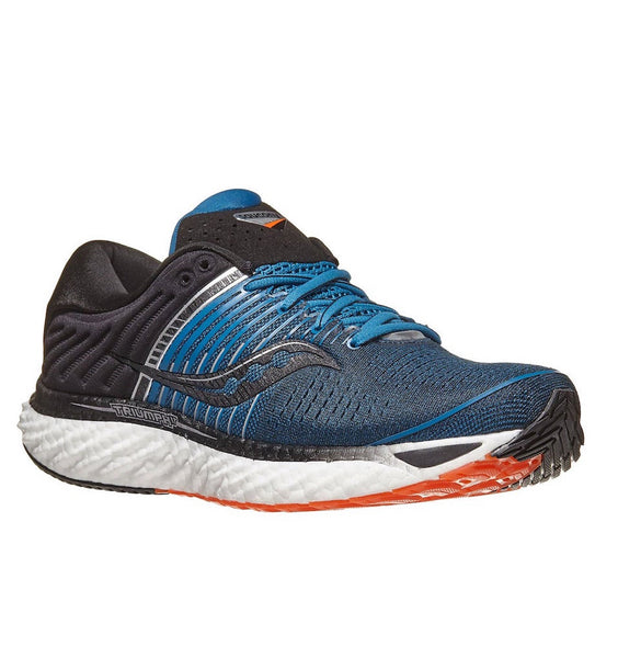 """SAUCONY"" Men's Triumph 17 - Blue/Black"