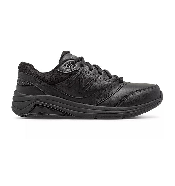"""NEW BALANCE"" Women's 928 v3 Black Leather (1696907559002)"