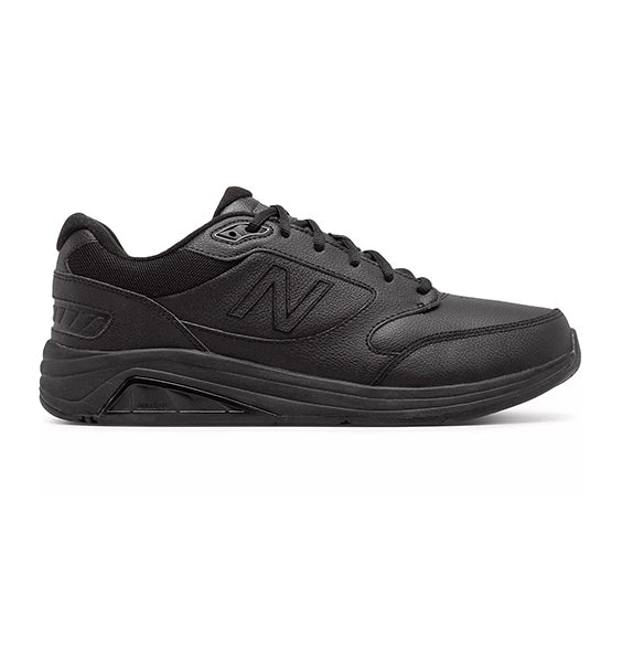 """NEW BALANCE"" Men's 928 v3 (Black Leather) (1696920043610)"