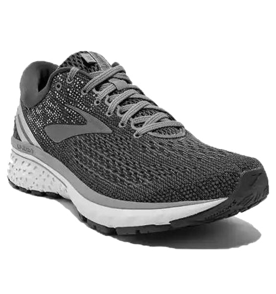 """BROOKS"" Men's Ghost 11 (Ebony/Grey)"