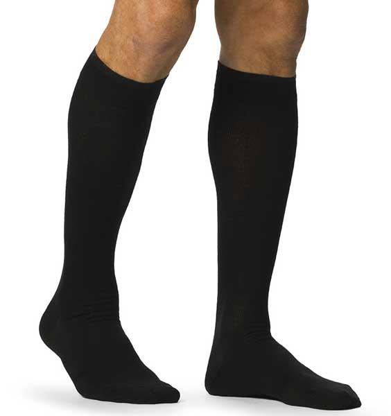 SIGVARIS Men's ALL-SEASON MERINO WOOL 192 Calf 15-20mmHg