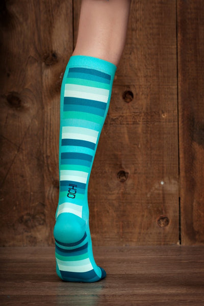 (ACHI) Performance Compression Sock, MONO TECH 15-22 MMHG