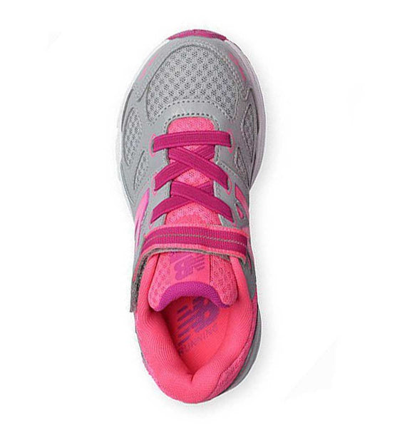 """NEW BALANCE"" Youth Girls 680v3 Hook & Loop Sneaker"