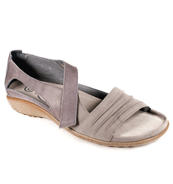 """NAOT"" Women's Papaki Sandal (Light Grey Nubuck)"