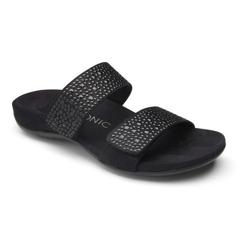 """VIONIC"" Women's Rest Samoa sandal (Black) (1682363056218)"