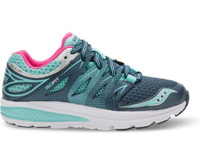 """SAUCONY"" Youth Girls Zealot 2 Lace Sneaker"
