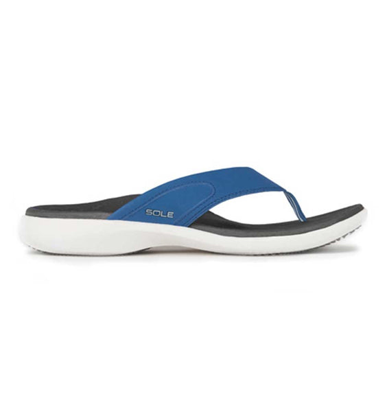 """SOLE"" Men's Sport Flips - Pacific (Blue)"