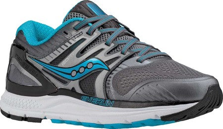 """SAUCONY"" Women's Redeemer ISO 2 - Grey/Black/Blue (4665480413274)"