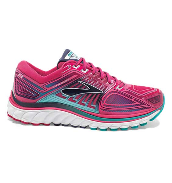Brooks Women Glycerin 13 Pink/Teal (293110054953)