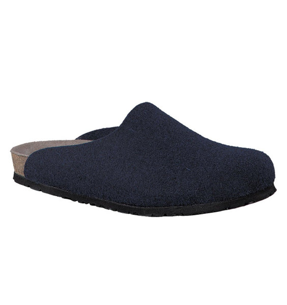 """MEPHISTO"" Men's Mobils Yang Mule/Slipper (Navy)"