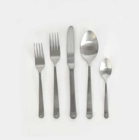 Silver Oslo Cutlery Set (5 pc)