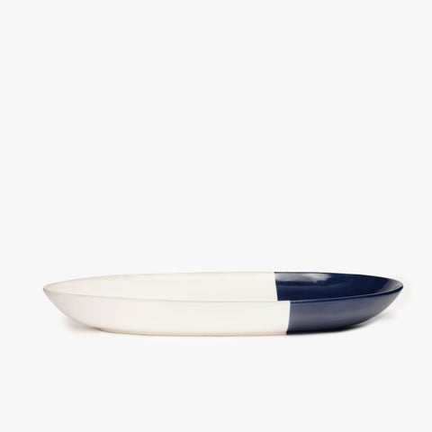 Ceramic Dipped Oval Platter