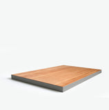 Bungalo Edge-y Wooden Cutting Board Charcoal Grey