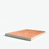 Edge-y Wooden Cutting Board White