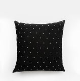 Bungalo Designer Throw Pillow Accent Pillow Black