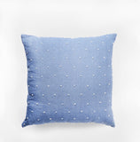 Bungalo Designer Throw Pillow Accent Pillow Chambray
