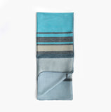 Bungalo Shupaca Soft Throw Blanket Modern Azul