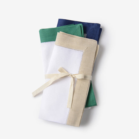 Edge Linen Napkins (Set of 4)