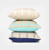Bungalo Designer Linen Check Throw Pillow