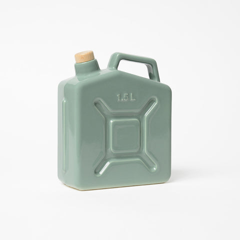 Ceramic Water Jerry Can Sage