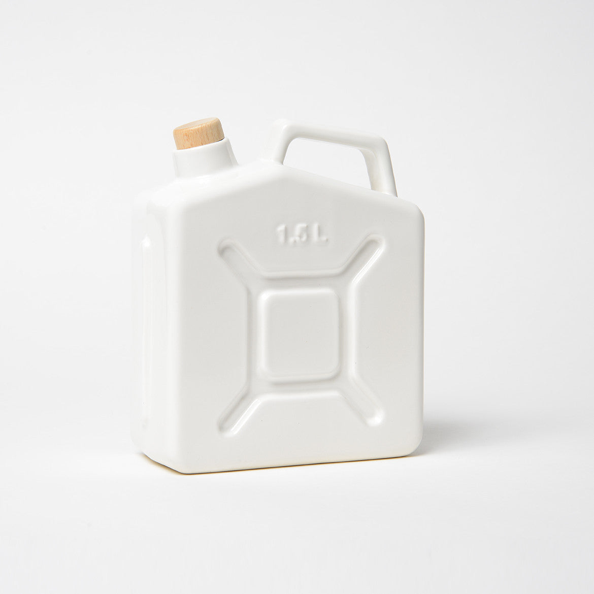 Ceramic Water Jerry Can Light Grey